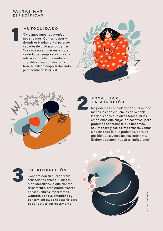 Consejos contra la sobrecarga emocional de sanitarios